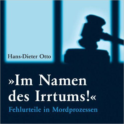 Im Namen des Irrtums! - Hans-Dieter Otto - 1 MP3 CD
