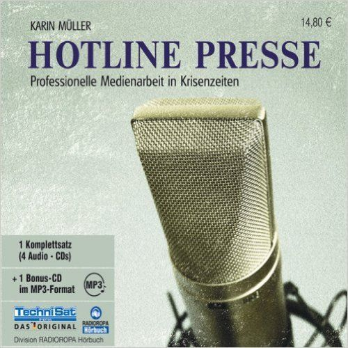 Hotline Presse - Karin Müller - 1 MP3 CD