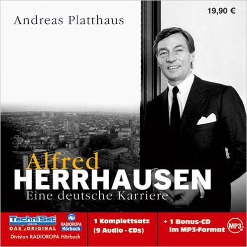 Alfred Herrhausen - Andreas Platthaus - 1 MP3 CD