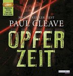 Opferzeit - Paul Cleave  - 2 MP3 CDs