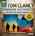 Kampf um die Krim - Tom Clancy - Command Authority - 4 MP3-CDs -  Ein JACK RYAN Krimi